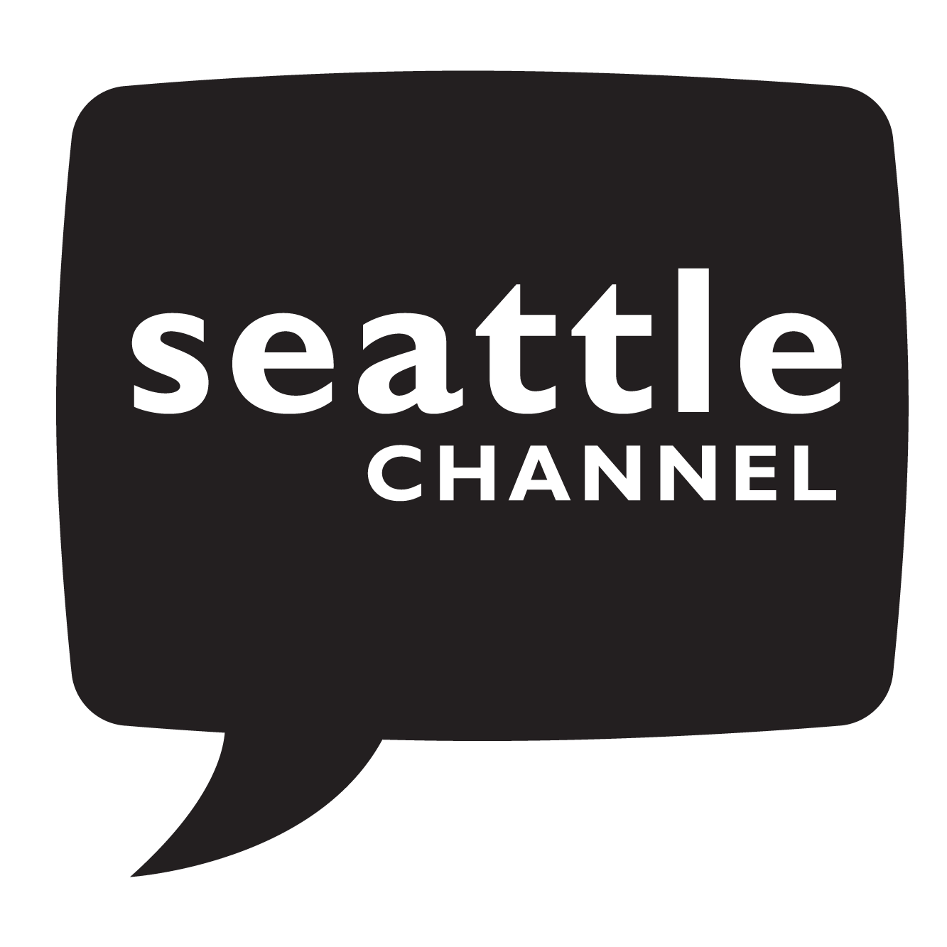 Seattle Channel black logo