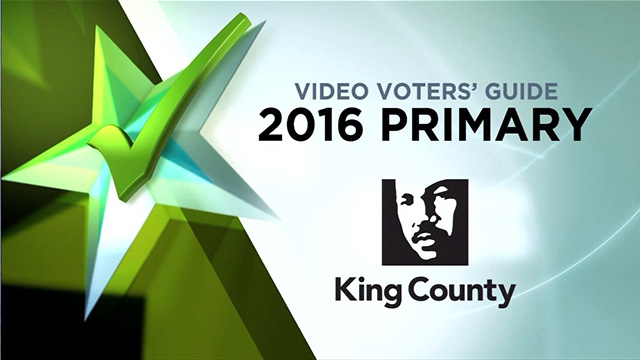 King County Elections Primary 2016