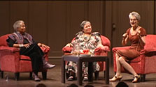 American Podium: Alice Walker & Frances Moore Lappe