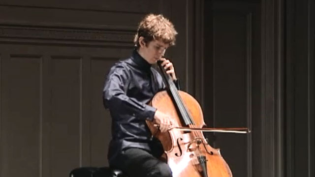 Front Row: Joshua Roman - Bach Cello Suites Parts 1-3