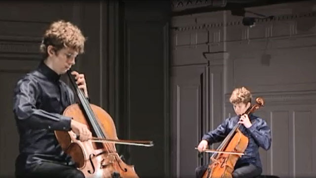 Front Row: Joshua Roman - Bach Cello Suites Parts 4-6