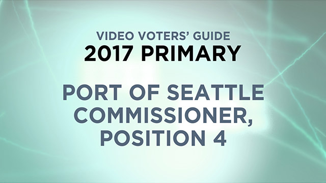 Port of Seattle, Commissioner Position 4