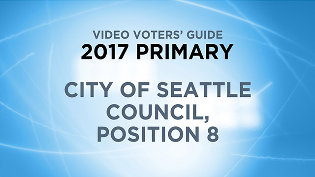 City of Seattle, Council Position 8