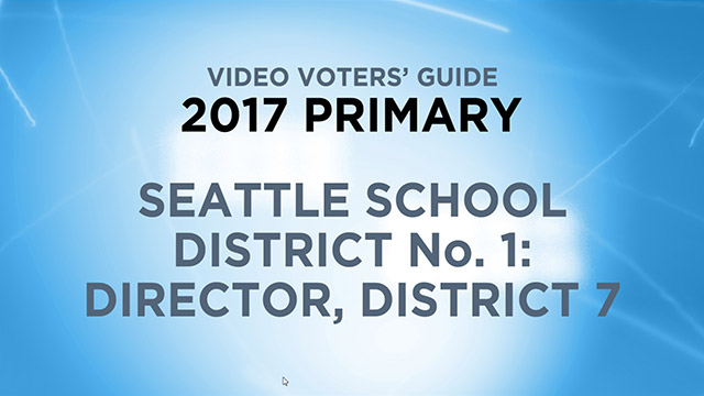 Seattle School District 1, Director District 7