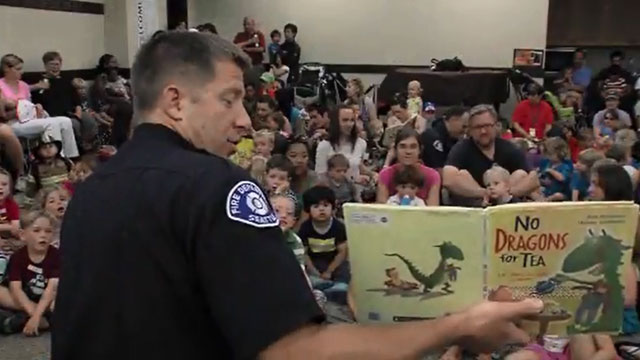 CityStream: Firefighters Story Time