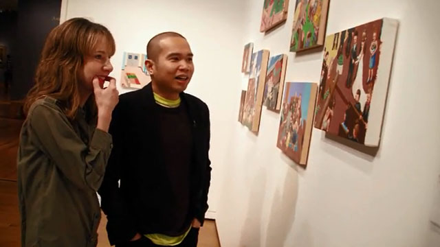 Art Zone: Pugay Showcases his artwork