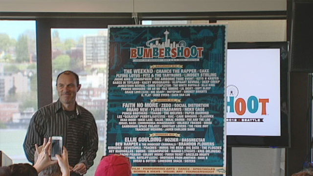 Mayor, One Reel and AEG Live announce Bumbershoot Line-Up 4/29/15