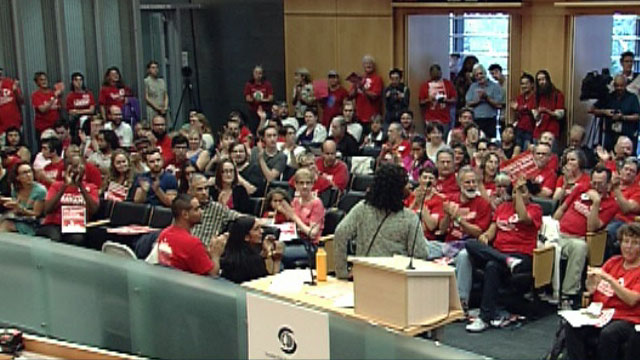 Community Forum at City Hall for Seattle Educators 9/10/15