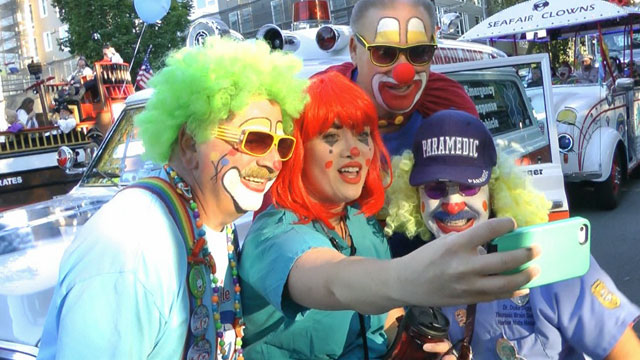 CityStream: Seafair Clowns 7/2/15