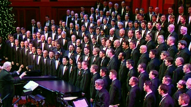 Front Row: Seattle Men's Chorus 2009 Holiday Concert