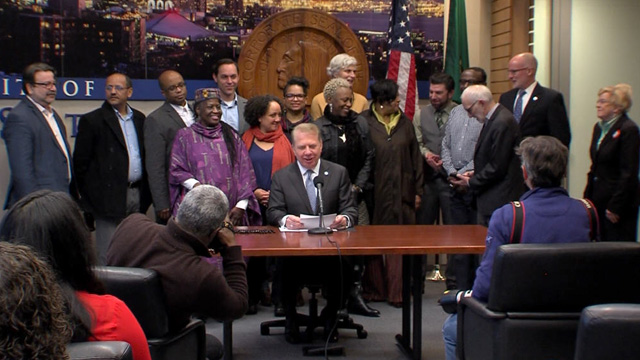 Mayor Murray Signs Multiple Ordinances and Resolutions