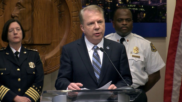 Mayor Murray Press Conference on Homelessness 1/27/16