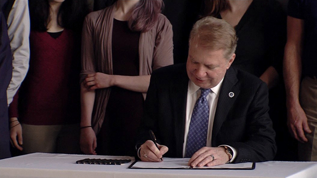 Mayor Murray announces Open Data Executive Order 2/26/16
