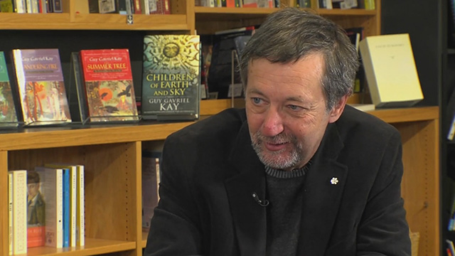 Book Lust with Nancy Pearl featuring Guy Gavriel Kay