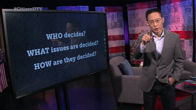 Citizen University TV: Ask Eric -- Who Decides?