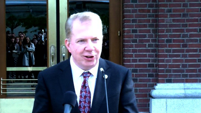 Mayor Ed Murray announces engagement plan for King Street Station