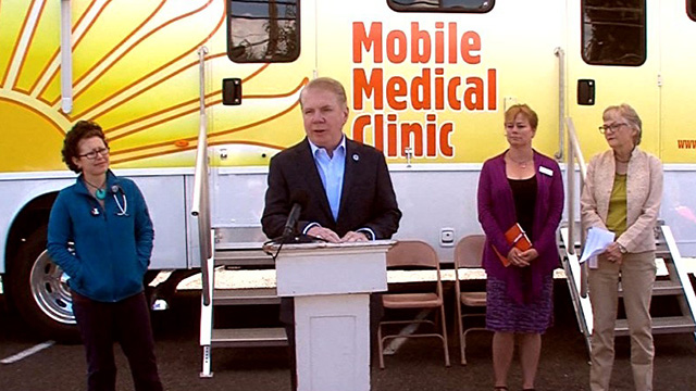 Mayor Murray launches new Mobile Medical Clinic