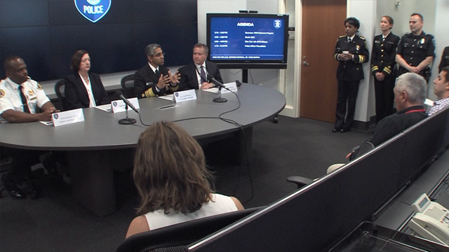 SPD meets with U.S. Surgeon General about naloxone program