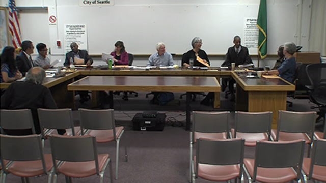 Seattle Board of Park Commissioners 10/27/16
