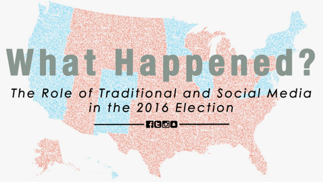 The Role of Traditional and Social Media in the 2016 Election