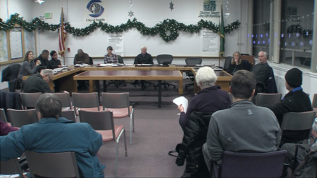 Seattle Board of Park Commissioners 12/8/16