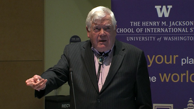 American Podium: Jim McDermott presents 'The President's First 100 Days'