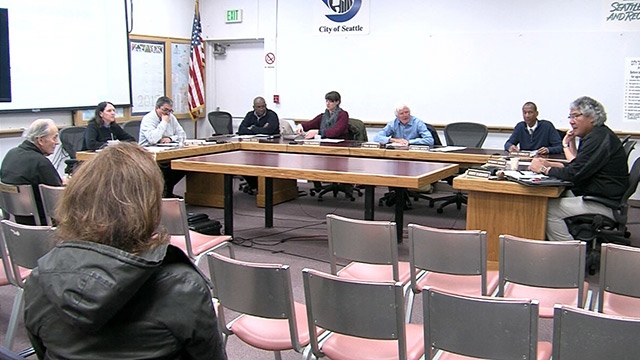 Seattle Board of Park Commissioners 3/9/17