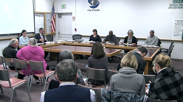 Seattle Board of Park Commissioners 2/23/17