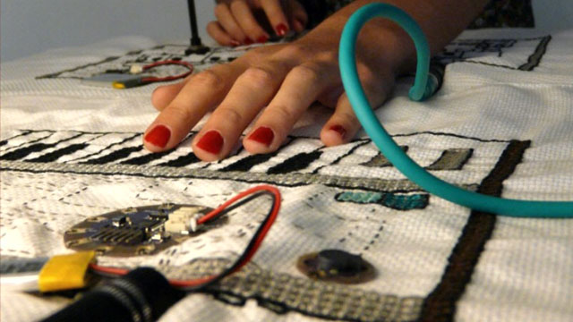 E-textiles: hand-crafting technological artifacts