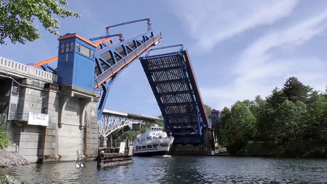 Drawbridges of the Ship Canal