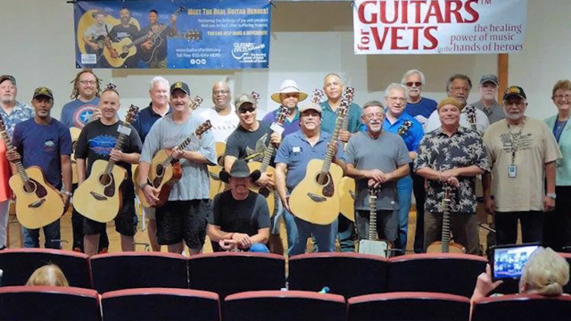 CityStream: Guitars for Vets