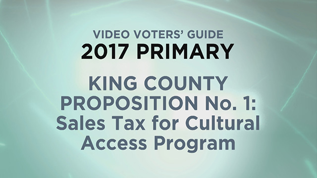 King County, Proposition 1: Sales Tax for Cultural Access Program