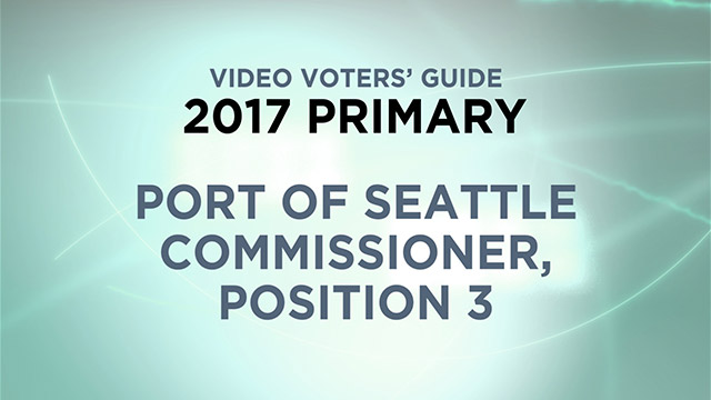 Port of Seattle, Commissioner Position 3
