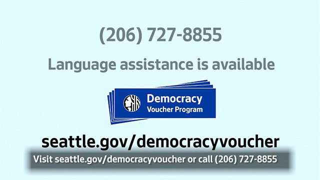 Democracy Vouchers - English (Captioned)