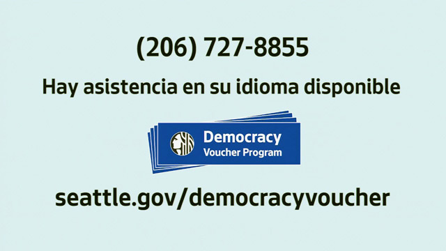 Democracy Vouchers - Spanish / Español