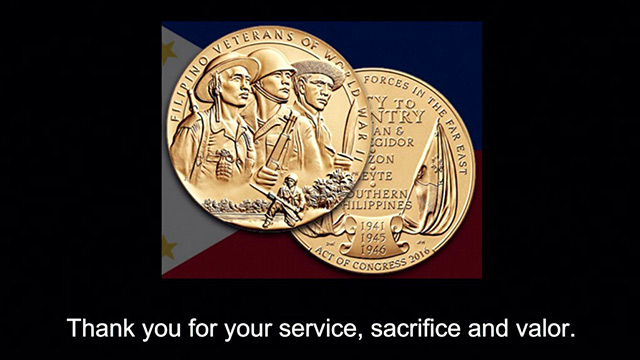 Local Filipino World War II veterans honored