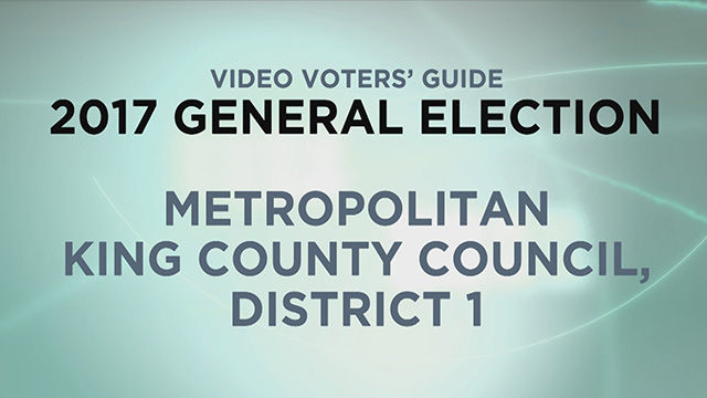 King County, King Co. Council Dist. 1