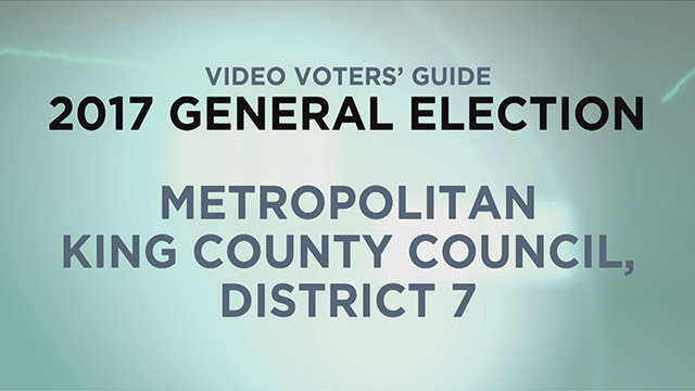 King County, King Co. Council Dist. 7