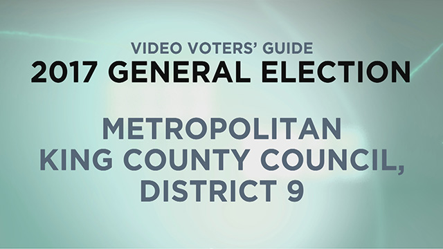 King County, King Co. Council Dist. 9