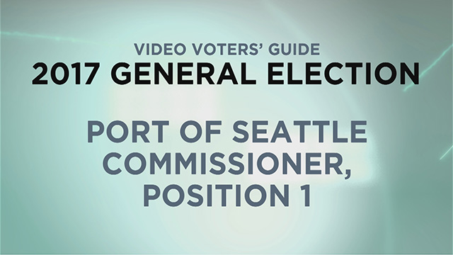 Port of Seattle, Commissioner Pos. 1