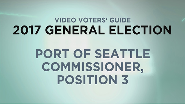 Port of Seattle, Commissioner Pos. 3
