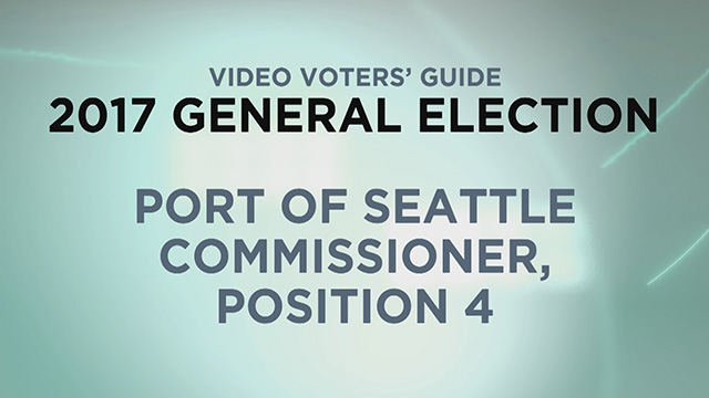 Port of Seattle, Commissioner Pos. 4