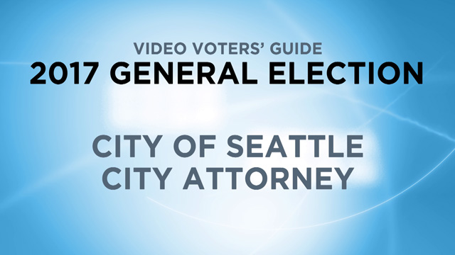 City of Seattle, City Attorney