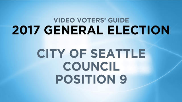 City of Seattle, Council Position 9