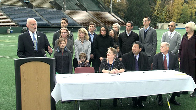 Mayor Burgess, Seattle Public Schools announce partnership agreement