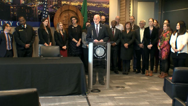 Mayor Burgess signs City budget, Seattle Retirement Plan into law