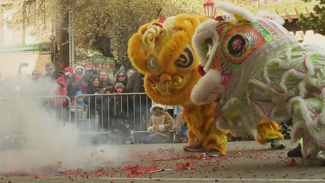 CityStream: Lunar New Year Lion Dance