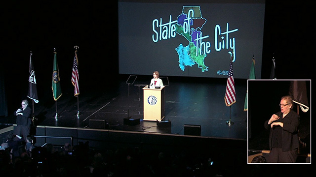 Mayor Durkan delivers 2018 State of the City Address