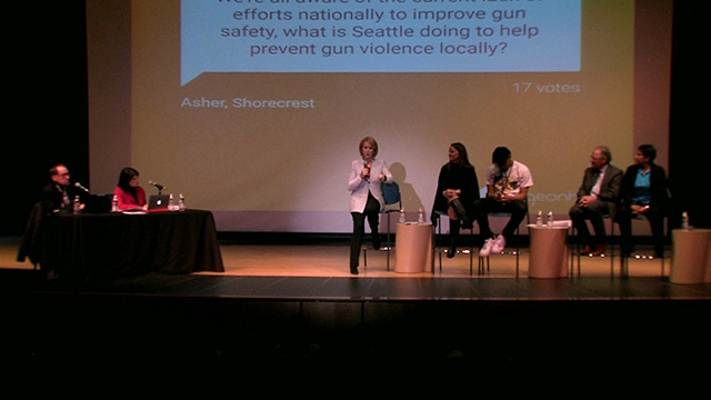 Mayor Durkan hosts town hall on students stopping gun violence