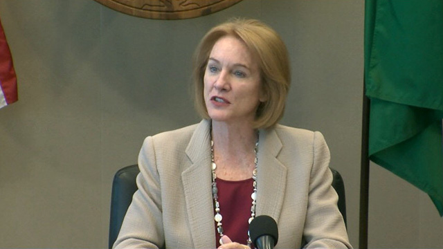 Mayor Durkan speaks at first meeting of the Police Chief Search Committee